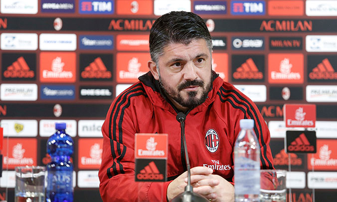 "Gattuso: ""The one thing I changed at Milan. Andre Silva? Big bullshit"""